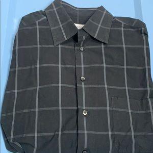 "Bagutta cotton shirt. Size 41/ 16 neck, 36"" sleeve"